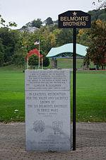 Cristoforo Colombo Park Belmonte Brothers memorial
