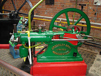 Crossley - A Crossley 1/2hp engine from 1884