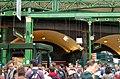 Crowds under ornate roof, Borough market, south London - geograph.org.uk - 1522123.jpg