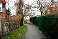 Croydon, Footpath at west side of Waddon Ponds - geograph.org.uk - 1753494.jpg