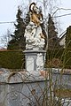 Csákánydoroszló, Nepomuki Szent János-szobor 2021 02.jpg