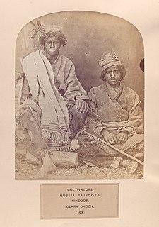 Rajputization Process of coalescing diverse communities into the Rajput community