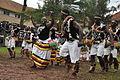 Cultural attire for dancers in banyoro western uganda.JPG