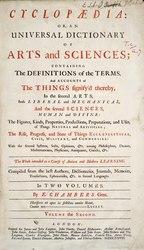 Cyclopaedia, Chambers - Volume 2.djvu