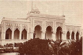Cyrenaica - Littorio Palace in Benghazi was the seat of the Cyrenaican assembly