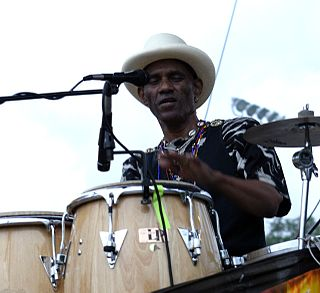 Cyril Neville American percussionist and singer