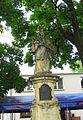 Częstochowa, Jasna Góra, figura świętego Jana Nepomucena.JPG