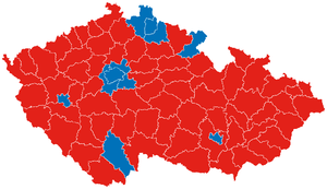 Czech Presidential Results 2013 - Second Round - districts.PNG