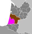 Département des Landes - Arrondissement de Dax.PNG