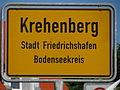 D-BW-Friedrichshafen-Krehenberg - Ortsschild.JPG