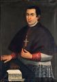D. José da Costa Torres, 18.º bispo do Funchal, óleo de 1788, Funchal, ilha da Madeira.png