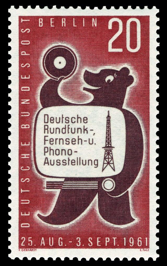 Briefmarken Jahrgang 1961 Der Deutschen Bundespost Berlin Wikiwand