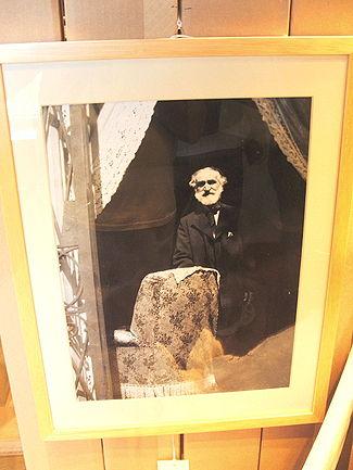 Una delle ultime immagini fotografiche di Giuseppe Verdicustodita al Castello d'Albertis di Genova
