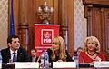 Daciana Sarbu si Viorica Dancila la Atelierele Viitorului - Editia a III-a, Palatul Parlamentului (10775361656).jpg