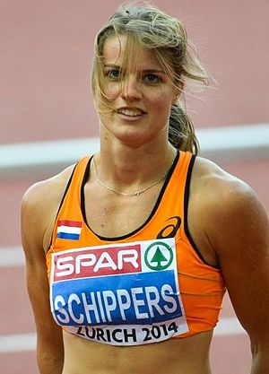 Dafne Schippers - Schippers at the 2014 European Athletics Championships