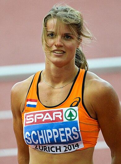 Dafne Schippers Zurich 2014 2