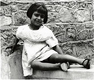Dalida - Dalida in 1937.