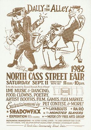 Gary Grimshaw - 1982 poster