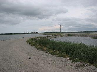 Väinatamm - Causeway of Väike Väin Straits