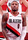 Damian Lillard against the Cleveland Cavaliers (cropped).jpg