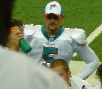 Dan Carpenter - Carpenter with the Dolphins in 2009.
