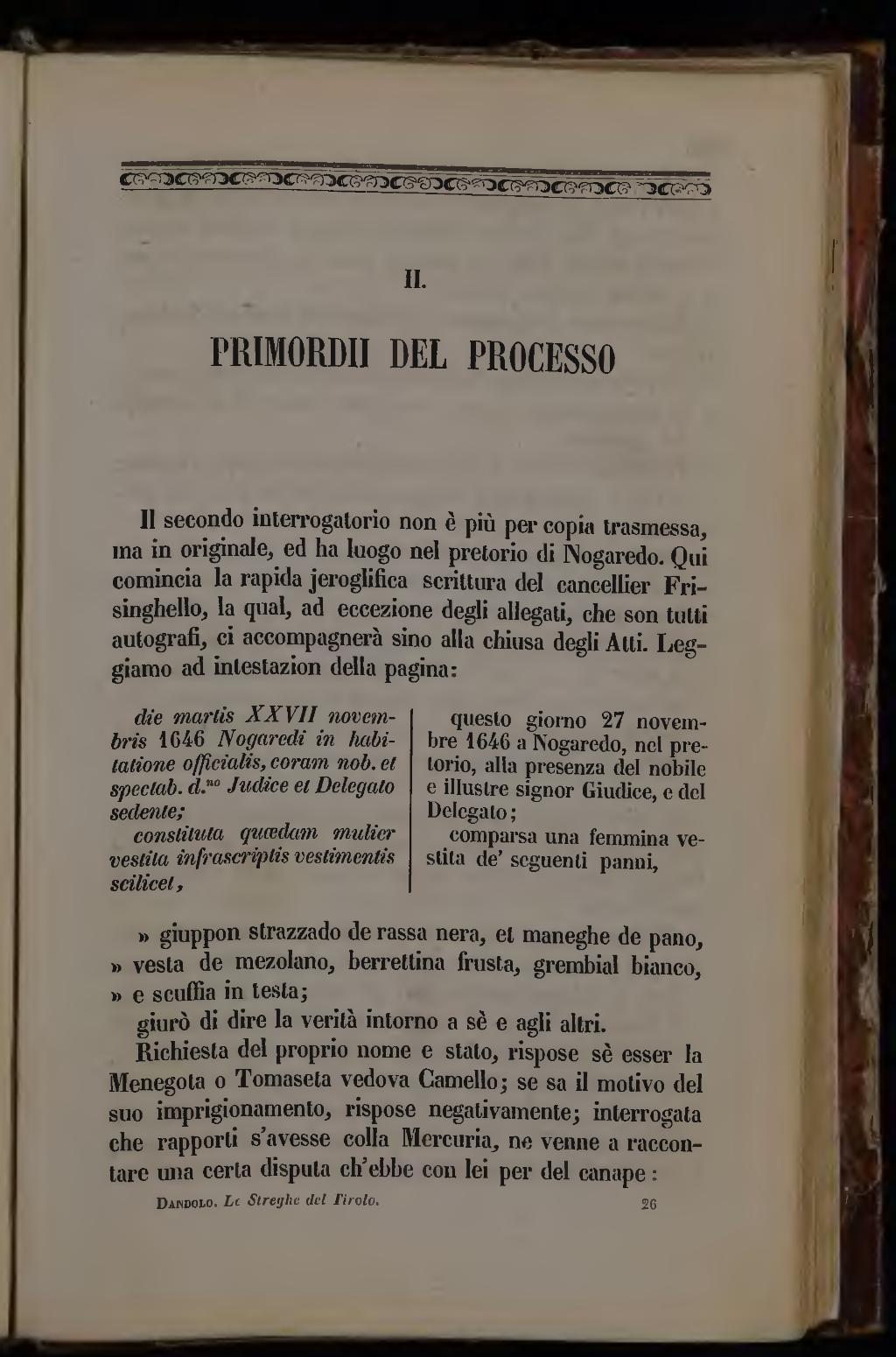 Paginadandolo La Signora Di Monza E Le Streghe Del Tirolo 1855