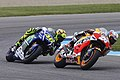 Dani Pedrosa and Valentino Rossi 2015 Indianapolis.jpeg