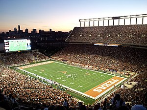 2016 Texas Longhorns football team - Darrell K Royal–Texas Memorial Stadium, where Texas plays its home games