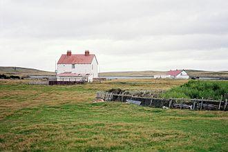Darwin, Falkland Islands - Darwin in 2003