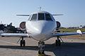 Dassault-Breguet Mystère Falcon 20F-5 N9TE HeadOn TICO 16March2014 (14478998809).jpg