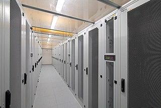 Server room Room containing computer servers