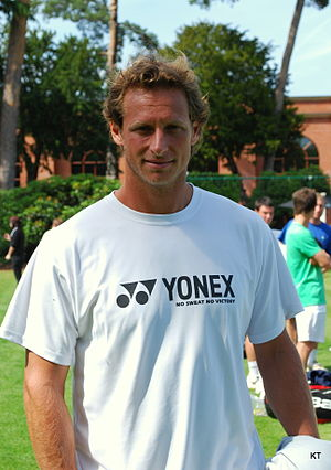 David Nalbandian - Nalbandian at Boodles 2011.