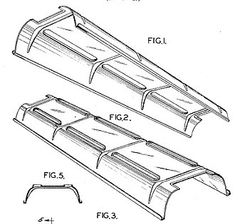 Compco Corp. v. Day-Brite Lighting, Inc. - Day-Brite's lighting fixture -- Drawing from Day-Brite's design patent
