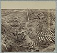 Dead Confederates in the trenches of Fort Mahone, April 3, 1865 LCCN2012647831.jpg
