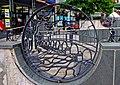 Decorative metal artwork (1), High Street - geograph.org.uk - 2133950.jpg