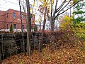 Dedham Branch retaining wall off Avery Street, November 2015.JPG
