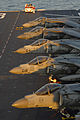 Defense.gov News Photo 120202-N-SB587-365 - AV-8B Harrier aircraft sit on the flight deck of the amphibious assault ship USS Kearsarge LHD 3 during Bold Alligator 2012 in the Atlantic Ocean.jpg