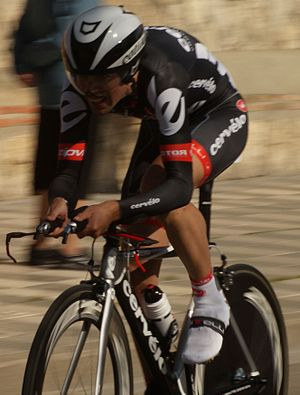 Cervélo TestTeam - Philip Deignan during the 2009 Vuelta a Castilla y León.