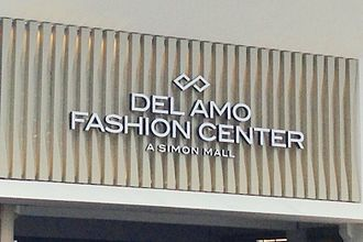 Del Amo Fashion Center - Sign over Carson Street