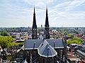 Delft Blick von der Nieuwe Kerk auf die Maria-van-Jessekerk 03.jpg