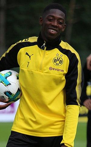 Ousmane Dembélé - Dembélé with Borussia Dortmund in 2017