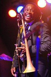 Dennis Rollins English jazz trombonist