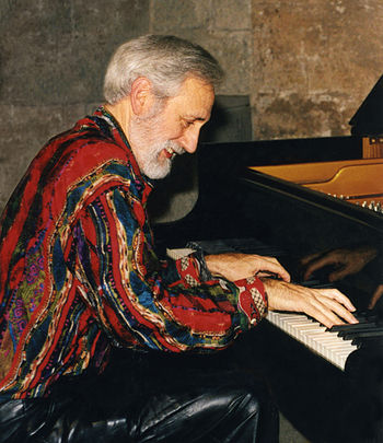 English: Denny Zeitlin in a jazz piano perform...