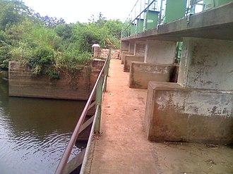 Densu River - Image: Densuano Dam