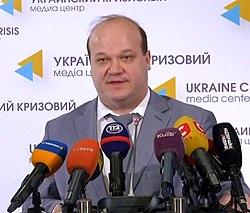 Deputy Head of the Presidential Administration of Ukraine Valeriy Chaliy.jpg