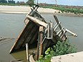 Destroyed fishing pier on Boyer Chute.jpg