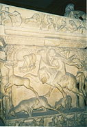 Detail sarcophagus Istanbul Arkeoloji Muzesi