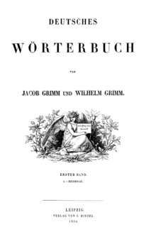 titelblatt - Bruder Grimm Lebenslauf