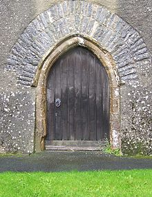 The Devilu0027s door at the Church of St Peter and St Paul Broadhempston Devon & Devilu0027s door - Wikipedia