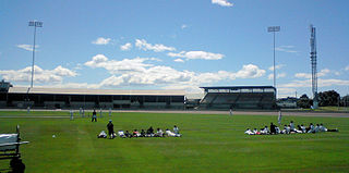 Devonport Oval Sports stadium in Tasmania